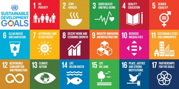 SDGs 17개 목표. ⓒsustainabledevelopment.un.org